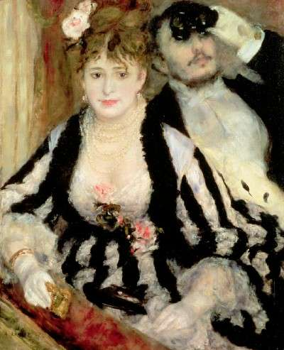 Edgar Degas e Auguste Renoir