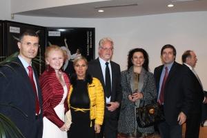 Premiazione di Claudia Ryan e il suo libro VIRGINIA con il Premio Golden Selection