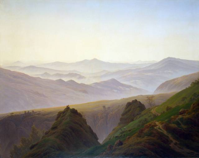 Caspar Friedrich, Morning in the Mountains