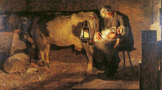 Giovanni Segantini, Le due madri