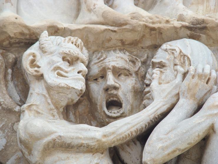 Duomo di Orvieto, dettaglio