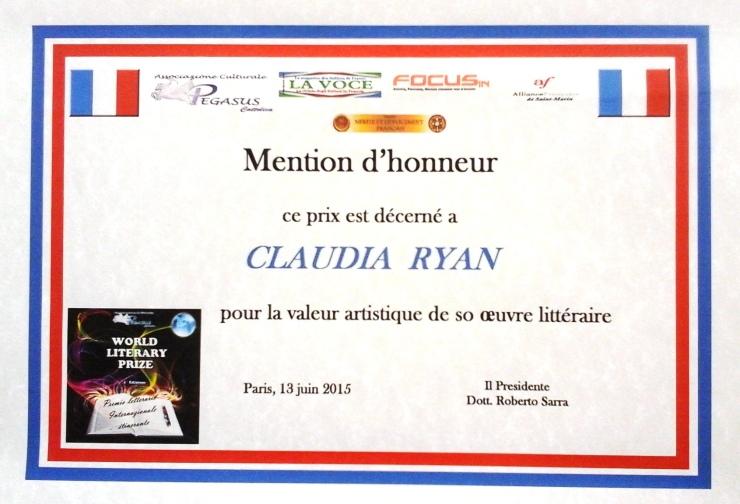 mention d'honneur
