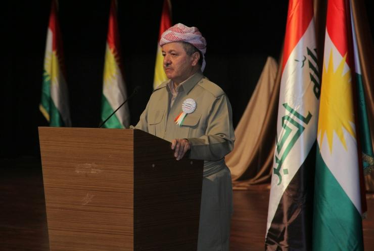 Il presidente del Kurdistan Barzani