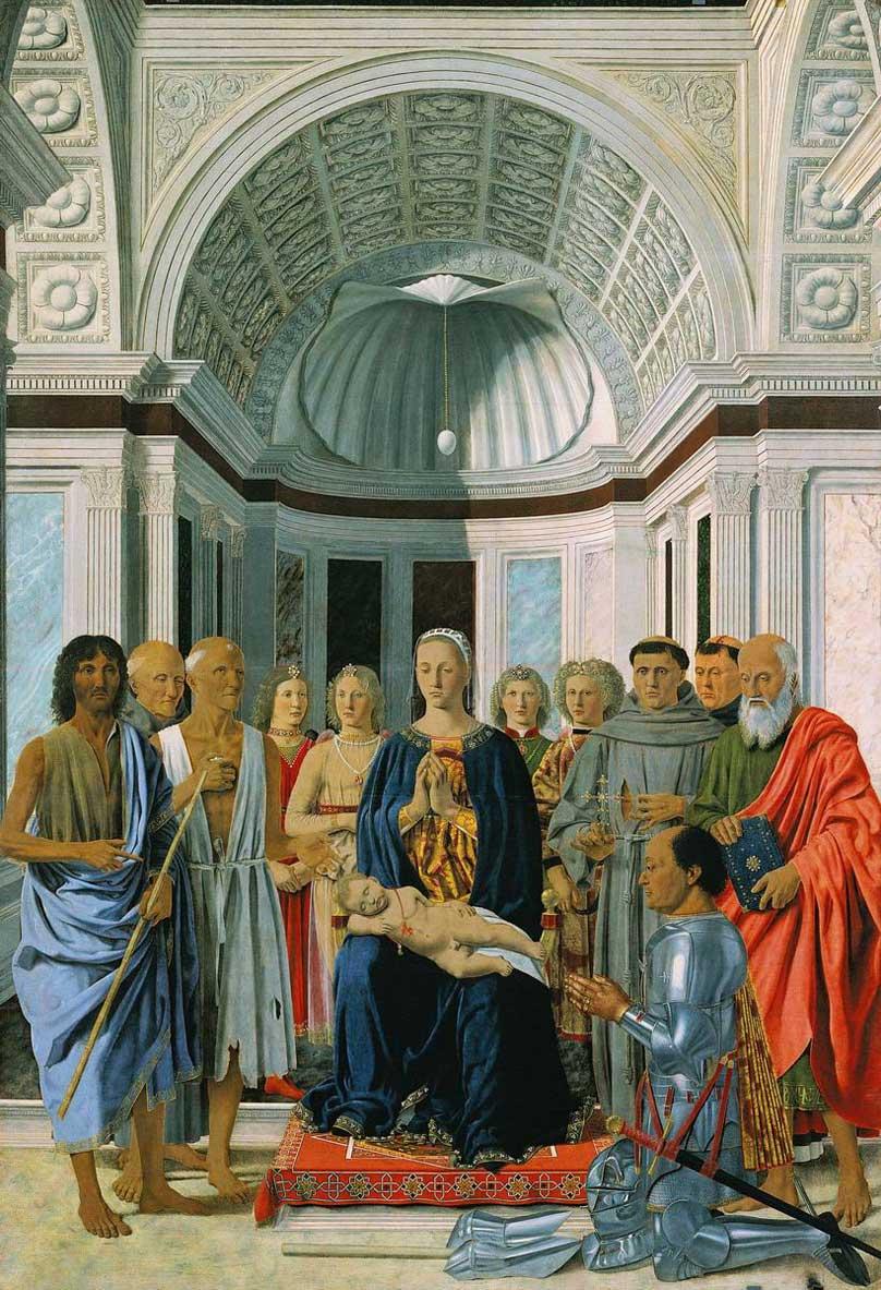 SacraConversazione di Piero della Francesca