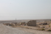 Sullo sfondo il campo IDP (Internally displaced person)