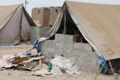 Il campo profughi non organizzato ma cresciuto spontaneo